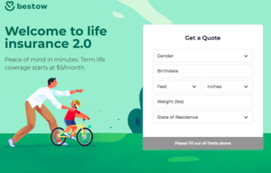 Bestow Review: Term Life Insurance in Minutes